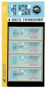 s24441) FRANCE 1985 MNH** Franking Vignettes