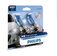 2 bulbs Headlight Bulb-CrystalVision Ultra - Twin Blister Pack Philips 9007CVB2