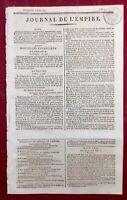 Bataille d'Eckmühl 1809 Napoléon Prise de Landshut Allemagne Journal de l'Empire