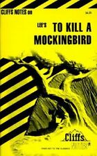 Lee's To Kill A Mockingbird (Cliffs Notes) Paperback