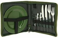 NGT Besteck und Geschirr Set PLUS Camping Picknick Outdoor