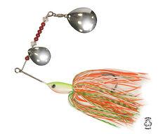 Spinbait spinner fishing lure FISHIN ADDICT uk 1st class BLANCO BURST