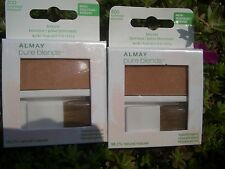 2 ALMAY PURE BLENDS 98.2% NATURAL BEAUTIFUL BRONZER, #300 SUNKISSED