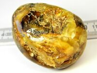 Baltic Amber natural genuine stone gemstone 39 grams polished authentic 900a