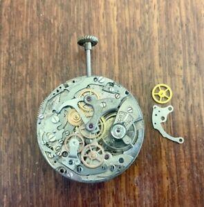 Landeron 51 Chronograph Movement (Balance Working Fast When Wound)