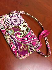 Vera Bradley Mini Purse W Wristlet Floral Quilted Small