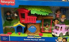 Fisher Little People Summer Play Day Kids Toy Children Xmas Gift 7 Figures