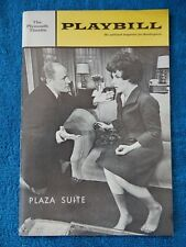 Plaza Suite - Plymouth Theatre Playbill - October 1968 - Marshall - Stapleton