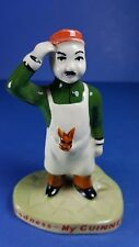 VINTAGE CARLTON WARE MY GOODNESS MY GUINNESS ZOO KEEPER - ADVERTISING FIGURINE