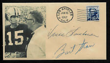 1968 Green Bay Packers Vince Lombardi Featured on Collector's Envelope *OP1144