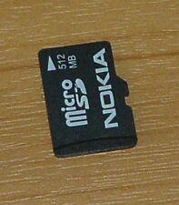 GENUINE NOKIA 512MB MICRO SD CARD ( MEMORY CARD )
