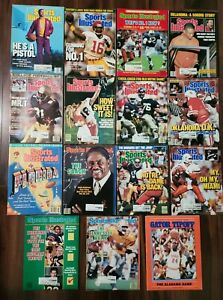 Sports Illustrated Various Issues / Mixed lot of College sports 1985 - 1989