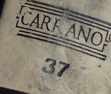 CARRANO GenuineLeatherItalianMidHiteSize37