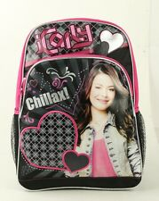 "ICarly Large Backpack 16""  Girls large Bag with mesh net water bottle holder"