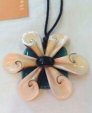 NWT Fiorini Designs Seashells Necklace Created By Nicole Matthews Australia WOW!