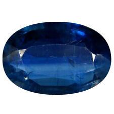 2.74 ct AAA Premium Oval Shape (11 x 7 mm) Blue Kyanite Natural Gemstone