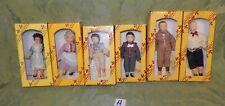 6 Del Prado Miniature Dolls House Dolls Children in Victorian Dress  (H)