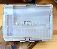 1950s Gillette Super Speed Case 4 REGULAR flare tip safety razor CASE ONLY