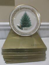 *5* Lenox Christmas Tree Annual Collector Plates 1978-1982 + Original Boxes
