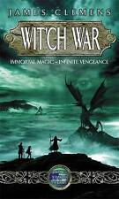 Wit'ch War (Banned & the Banished), By James Clemens,in Used but Acceptable cond