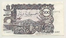 Algeria 500 Dinars 1-1-1970 Pick 129.a VF+ Circulated Banknote Staple Ref 975