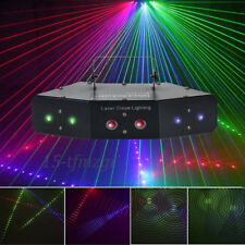LED RGB Stage Laser Projector Beam DMX Effect Light Lighting Disco DJ Party KTV
