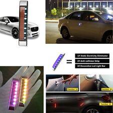 Pair Solar&Static Eliminator LED Strobe Light Magnetic Control Body LED Moldings