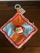 RUSS Newborn Monkey Comfy Activity Blankie Baby Gift