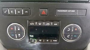 2008 - 2012 Buick Enclave Front Dash Mounted Dual Zone Digital Climate Control