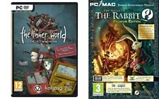 inner world the last wind monk includes 1st game & night of the rabbit newsealed