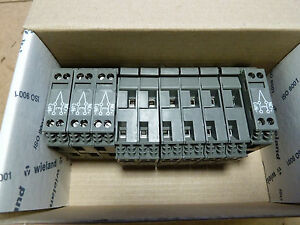Box of 10 Wieland 57.904.7053.0 thermocouple terminal blocks [Z0.5]