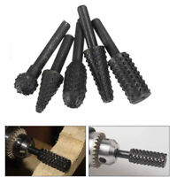 5pcs/Set 1/4'' Drill Bit Set Cutting Tools For Woodworking Knife Wood Carving #C