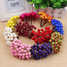Artificial Holly Berries 40 Heads Flower Stamen Home Wedding Party Decor Craft
