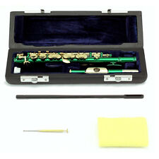 HOLIDAY-SALE!Band Approved SKY Green Piccolo Flute w Gold Keys LIMITED