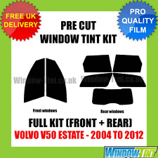 VOLVO V50 ESTATE 2004-2012 FULL PRE CUT WINDOW TINT