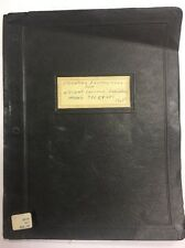 1946 Original Operating Instructions Wright Cyclone Model 736C9HD1