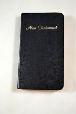 1961 Armed Forces Pocket Bible New Testament Psalms American Bible Society