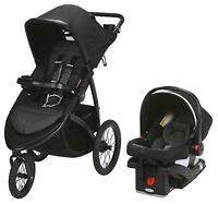 Graco Baby RoadMaster Jogger Travel System Stroller w/ Infant Car Seat Spencer