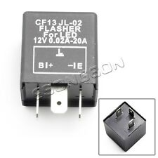 3 Pin CF13 JL-02 Electronic Car Flasher Relay to fix LED light Hyper Flash Blink