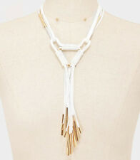 MARNI H&M  Strand Necklace Gold