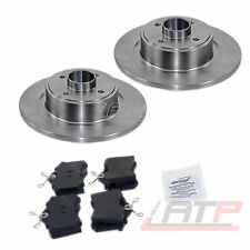 BRAKE DISCS + PADS REAR SOLID Ø274 RENAULT SCENIC MK 1 99-03