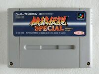 Fatal Fury Special Garou Densetsu SNES Nintendo Super Famicom From Japan
