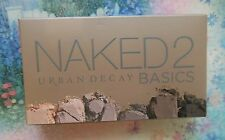 Urban Decay NAKED 2 BASICS 6 pc Eye shadow Palette With FREE Gift New!