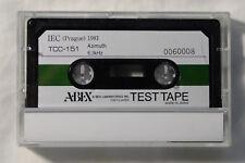 ABEX Azimuth Test Tape TCC-151 6.3kHz New