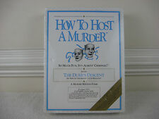 "How to Host a Murder ""The Dukes Of Descent"" 1990~ New & Factory Sealed"