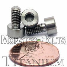 4mm x 0.70 x 8mm - TITANIUM SOCKET HEAD CAP Screw - DIN 912 Grade 5 Ti M4 Hex
