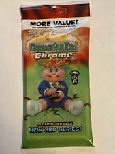 2020 Topps Garbage Pail Kids Chrome Series 3 #Rd Hot Pack Auto/ 1/1 /Red/Orange?
