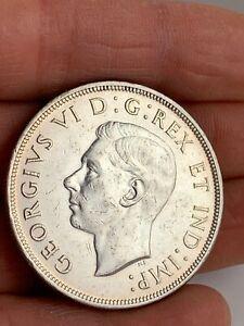 1947 Canada Silver $1 Dollar w/ Blunt 7  KM #37 Key Date  ***NO RESERVE***