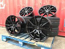 """18"""" FORD TRANSIT CUSTOM Transit 5x160 Roues en alliage + pneus haute charge 1250 kg noir"""