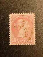 Canada Stamp Sc# 37 Or # 41 Red Rose Pink Queen Victoria Perf. 12 - 3c 3 Cents